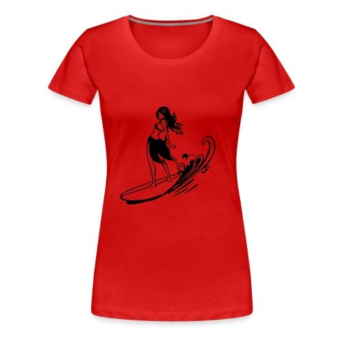 Surf donna - Maglietta Premium da donna