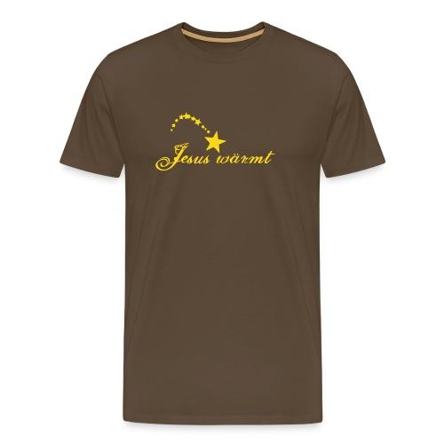 Jesus wärmt - Männer Premium T-Shirt