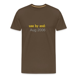 use by end - Men's Premium T-Shirt