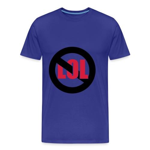 Shirt Gegen LOL - Männer Premium T-Shirt