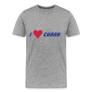 T-Shirts ~ Men's Premium T-Shirt ~ I Love Curry