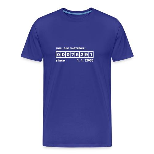 Counter - Männer Premium T-Shirt