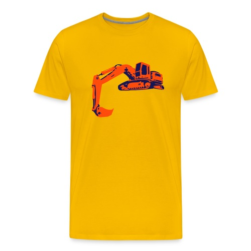 Kaivuri - Paita - Miesten premium t-paita
