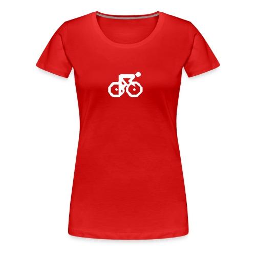 Radler Girlie rot - Frauen Premium T-Shirt