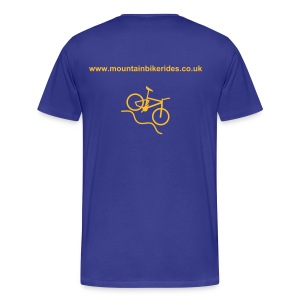 Mountain Bike Rides - Men's Premium T-Shirt
