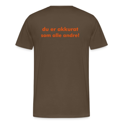 Preple - Premium T-skjorte for menn