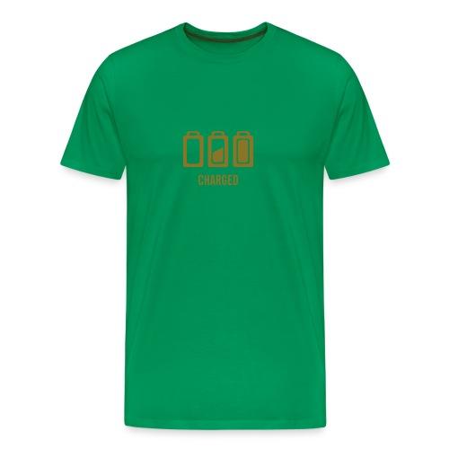 charged - Premium-T-shirt herr