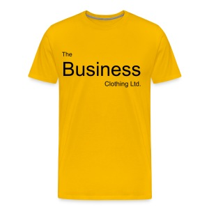 Simply The Business (yellow) - Men's Premium T-Shirt