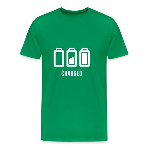 Charged - Camiseta premium hombre