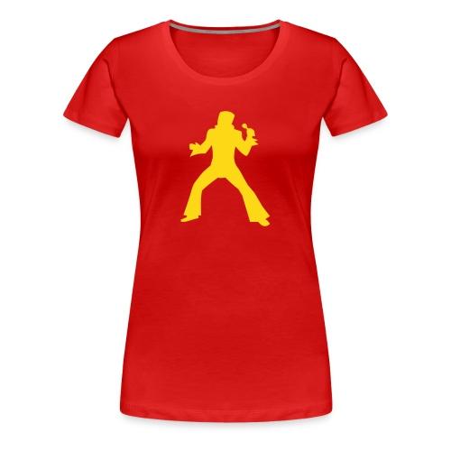 T-shirt med Elvis - Premium-T-shirt dam