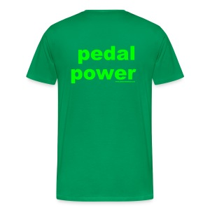 Pedal Power T - Men's Premium T-Shirt