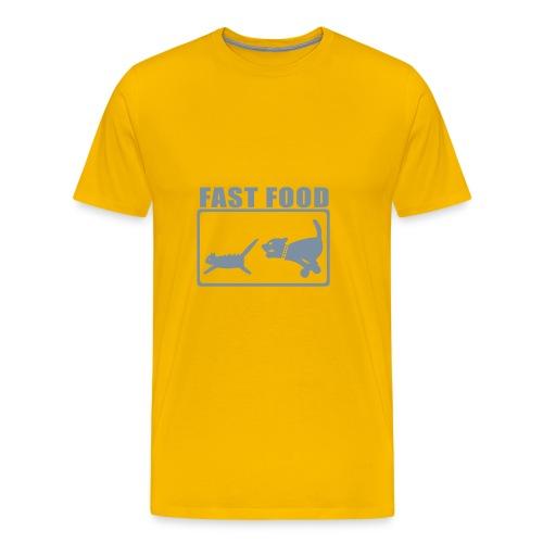 fast food2 - Männer Premium T-Shirt