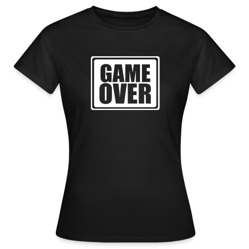 TeeShirt Game Over style Classic - T-shirt Femme