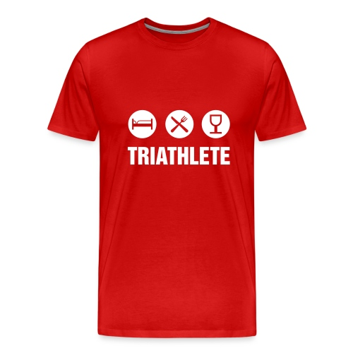 Triathlete - Men's Premium T-Shirt