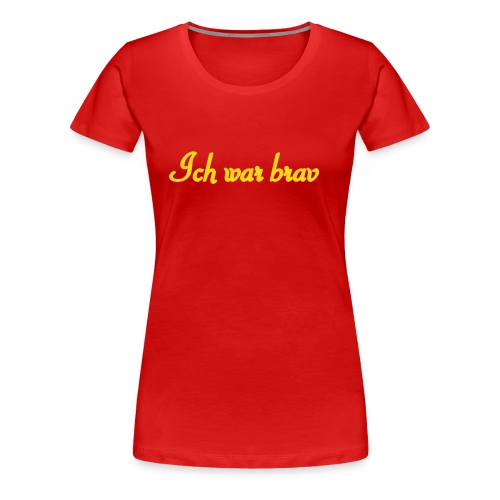 XMAS-Shirt - Frauen Premium T-Shirt