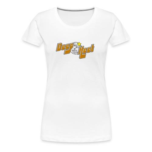 Ladies White T Shirt - Women's Premium T-Shirt