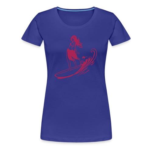 Continental Classic Girlie - Camiseta premium mujer