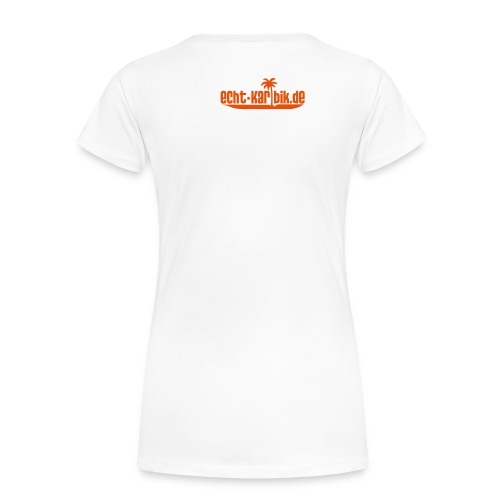 Girlie Shirt in weiß - Frauen Premium T-Shirt