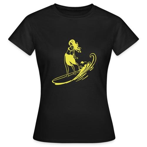 surfer girls tee - T-shirt Femme