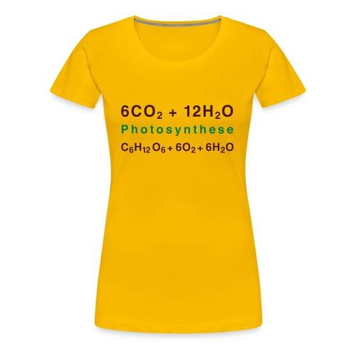 Photosynthese - Frauen Premium T-Shirt