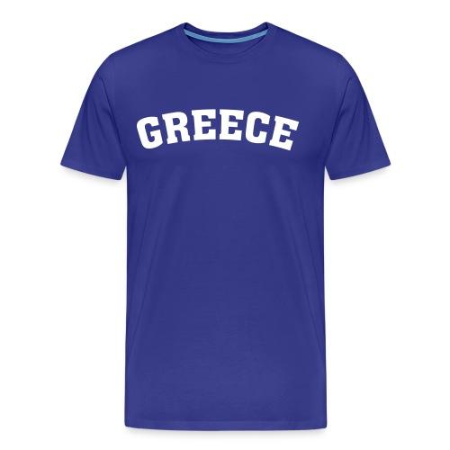 Greece Inc. - Männer Premium T-Shirt