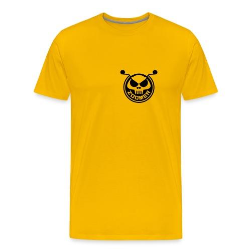 Zoomer Skull Tshirt - Men's Premium T-Shirt