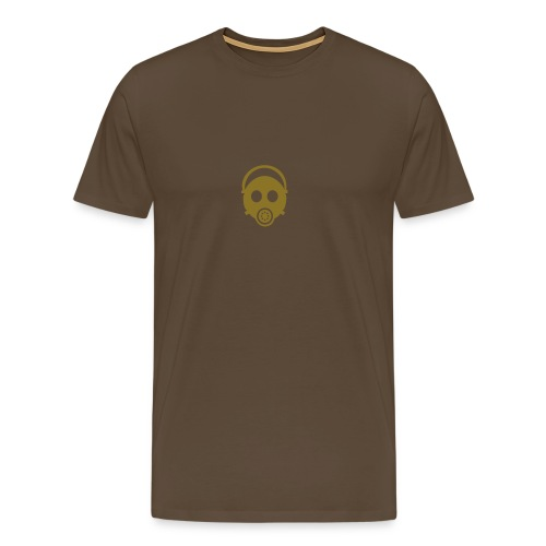 Gasmask - Premium-T-shirt herr