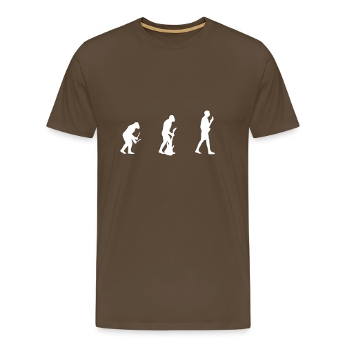 Evolution of Music - Men's Premium T-Shirt