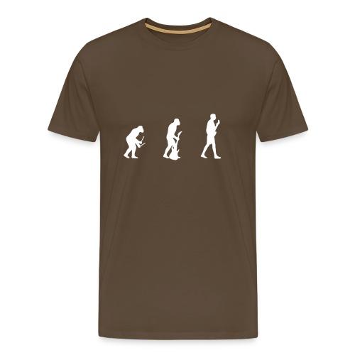 Evolution of Music - Men's Premium T-Shirt