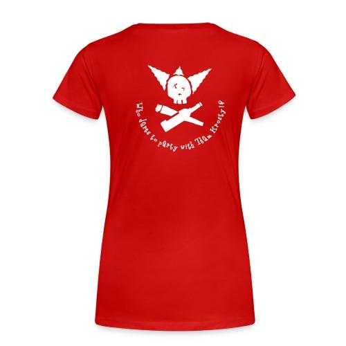 Krusty Girl 1 - Frauen Premium T-Shirt