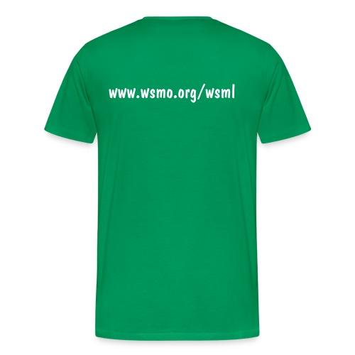WSML Green T-Shirt (Mens) - Men's Premium T-Shirt