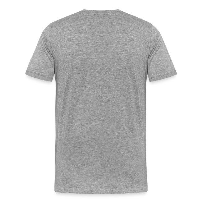 Reifen Regel - Shirt: grau; Druck: schwarz & rot