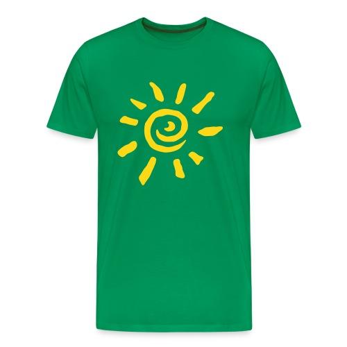 Sun - Männer Premium T-Shirt