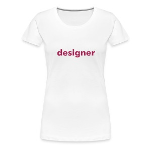 LADIES white - Women's Premium T-Shirt