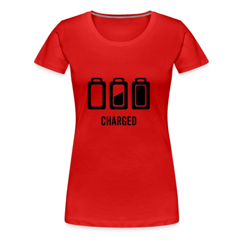 Charged - Vrouwen Premium T-shirt