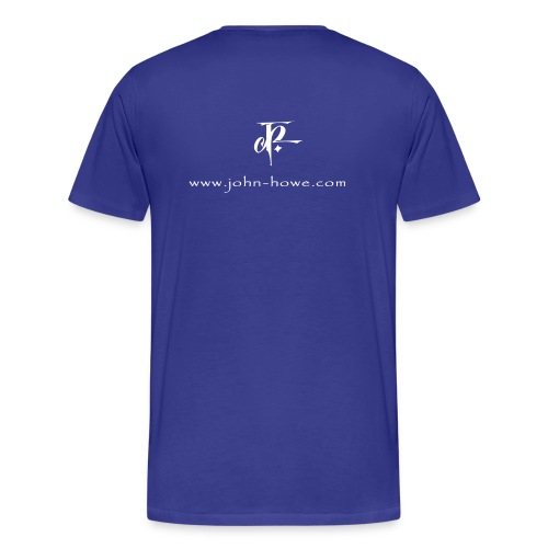 JH Comfort-T royal/white - Men's Premium T-Shirt