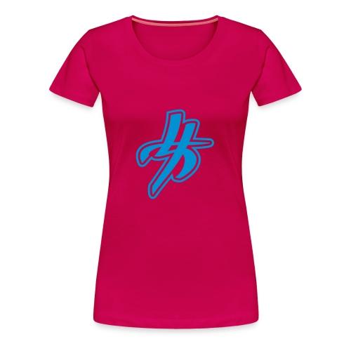 Rosa Woman Style - Frauen Premium T-Shirt
