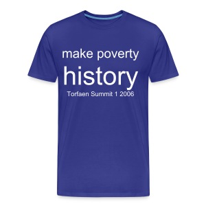 Make poverty history - Men's Premium T-Shirt