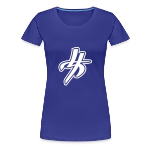 Blue Woman Style - Frauen Premium T-Shirt