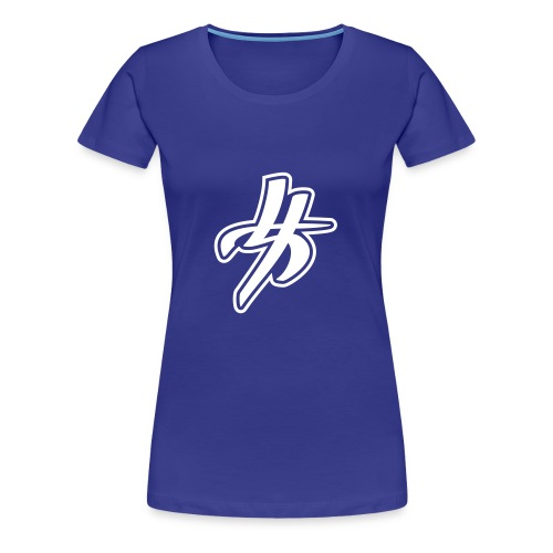 Blue Woman Style - Frauen Premium T-Shirt