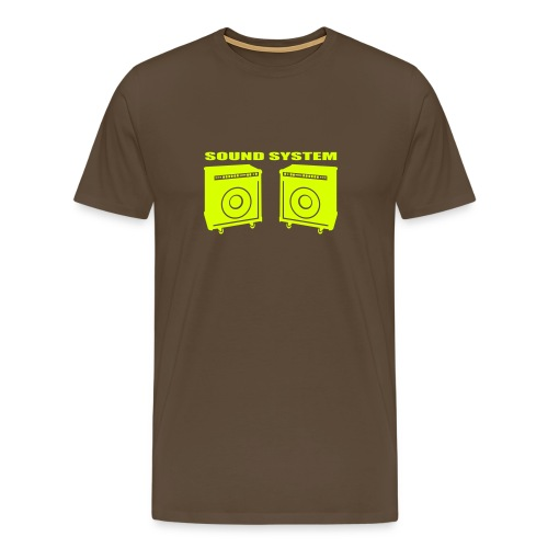 Tee shirt culturezone sound système - T-shirt Premium Homme