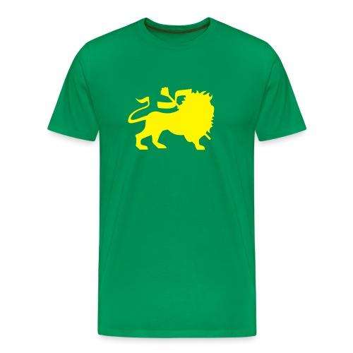 Løva ser dæ - Premium T-skjorte for menn