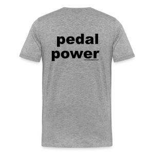 Cycling-Pedal Power T - Men's Premium T-Shirt