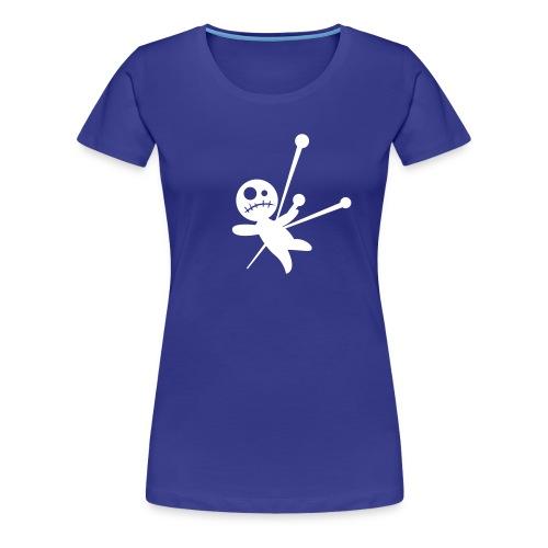 Turquoise Woodoo - Women's Premium T-Shirt