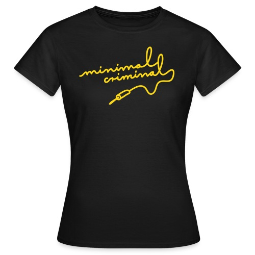 Minimal Criminal - Frauen T-Shirt