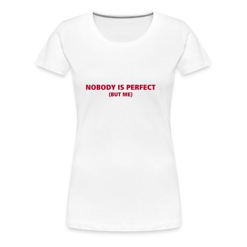 NOBODY - T-shirt Premium Femme