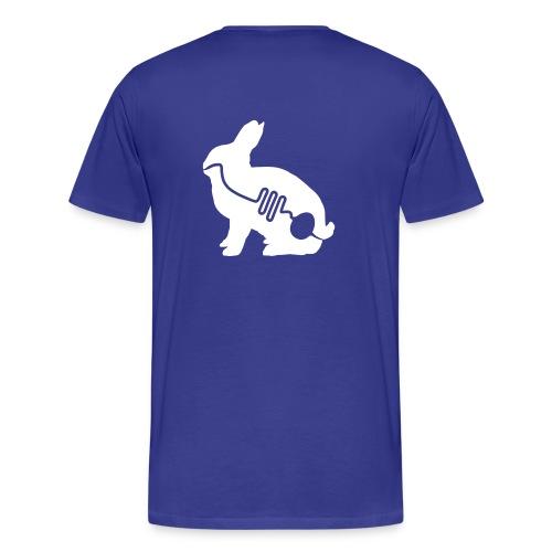 TOstern The Rabbit BLUE - Männer Premium T-Shirt
