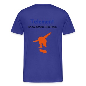 Telement (blueskate) - Men's Premium T-Shirt