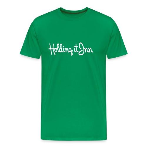 Holding it Inn - Men's Premium T-Shirt