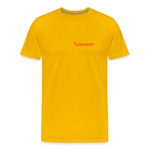 Telement (orangeskate1) - Men's Premium T-Shirt